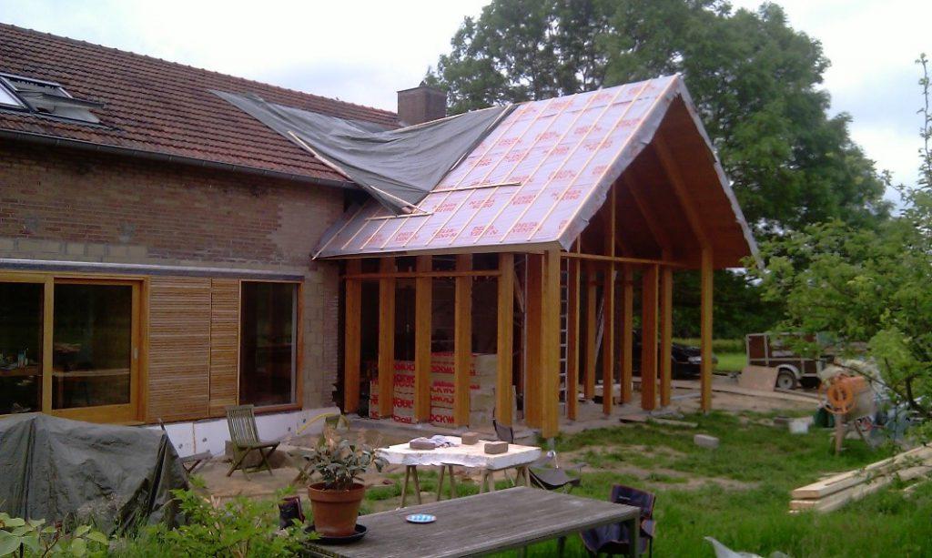 Duurzame verbouwing woonboerderij